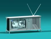 Moderne TV in studio1a