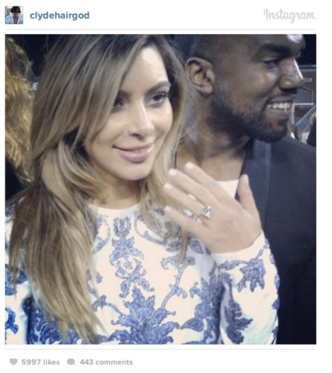 Kanye Popped The Question